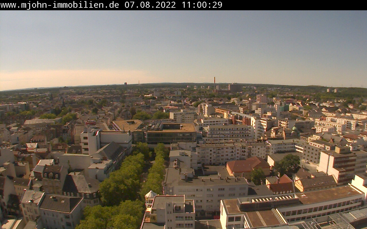 Offenbach am main rathaus webcam live e live webcams for Werbeagentur offenbach am main